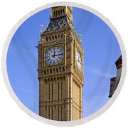 Round Beach Towel featuring the photograph Big Ben by Stephen Anderson