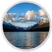 Big Sky Round Beach Towel by Aaron Aldrich