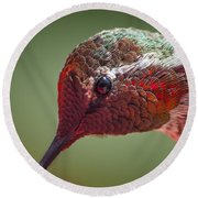 Bird's Eye View Round Beach Towel by Caitlyn  Grasso