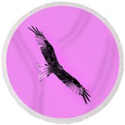 Birds Of Prey Round Beach Towel by Tommytechno Sweden