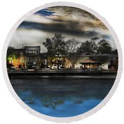 Blackwater River Round Beach Towel