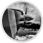 Blade Flyer Round Beach Towel