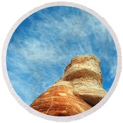 Blue Canyon 65 Round Beach Towel