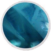 Blue Wash Round Beach Towel