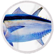 Bluefin Tuna Round Beach Towel