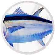 Bluefin Tuna Round Beach Towel