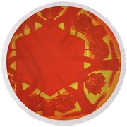 Boards Of Canada Geogaddi Album Cover Round Beach Towel
