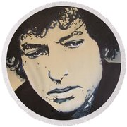 Bob Dylan - It's Alright Ma Round Beach Towel