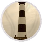 Bodie Light IIi Round Beach Towel