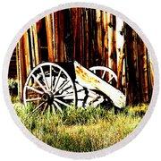 Bodie Wheel Round Beach Towel