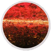 Boiling Point Round Beach Towel