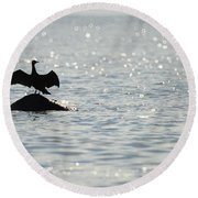 Round Beach Towel featuring the photograph Bokeh by Randi Grace Nilsberg