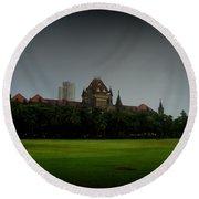 Bombay High Court Round Beach Towel by Salman Ravish