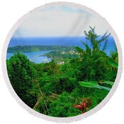 Bonnieview Round Beach Towel