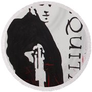 Boondock Saints Panel One Round Beach Towel