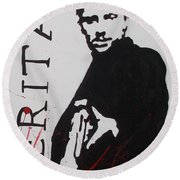 Boondock Saints Panel Two Round Beach Towel