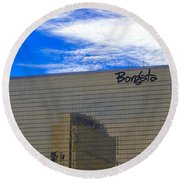 Borgata Round Beach Towel