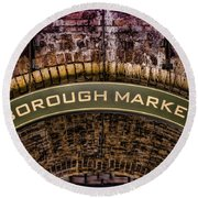Borough Archway Round Beach Towel