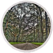 Botany Bay Road Round Beach Towel