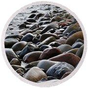 Boulder Beach Round Beach Towel by Randi Grace Nilsberg