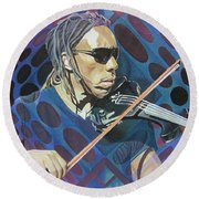 Boyd Tinsley Pop-op Series Round Beach Towel