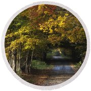 Bradford County Fall 2013 Round Beach Towel
