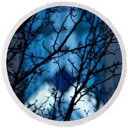 Branch Office Round Beach Towel by Joseph Yarbrough