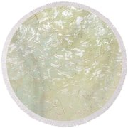 Breath Of Spring Round Beach Towel