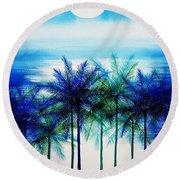 Breathtaking Round Beach Towel