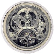 Breguet Skeleton Round Beach Towel