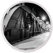 Bridge Arches Round Beach Towel by Melinda Ledsome