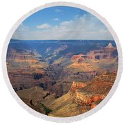Bright Angel Trail Grand Canyon National Park Round Beach Towel