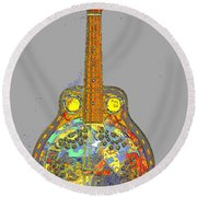 Brilliant Dobro 2 Round Beach Towel