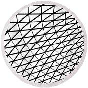 British Museum Geometry Round Beach Towel