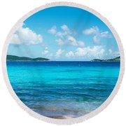British Virgin Islands, St. John, Sir Round Beach Towel