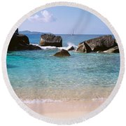 British Virgin Islands, Virgin Gorda Round Beach Towel