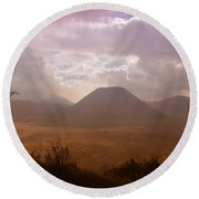 Bromo Round Beach Towel