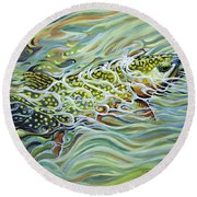 Brookie Flash Round Beach Towel