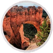 Bryce Canyon Arches Round Beach Towel