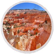 Bryce Canyon Utah Round Beach Towel