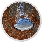 Bubble Shell Round Beach Towel