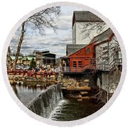 Bucks County Playhouse Round Beach Towel