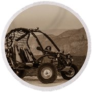 Buggy Round Beach Towel