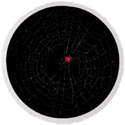 Bulls-eye Round Beach Towel
