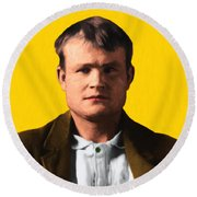 Butch Cassidy 20130513 Square Round Beach Towel