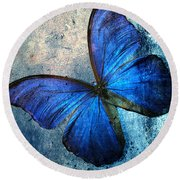 Butterfly Round Beach Towel