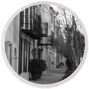 Charleston Round Beach Towel