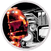C3po Round Beach Towel