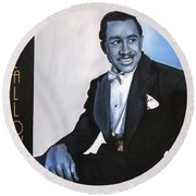 Cab Calloway Round Beach Towel