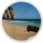 Cabo San Lucas Beach 1 Round Beach Towel